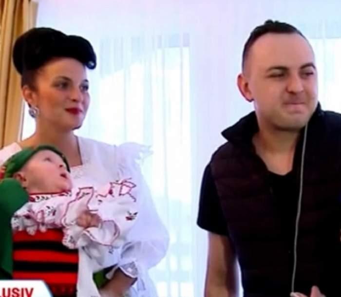 FOTO / Detalii în premieră de la cel mai bogat botez! Câţi bani a scos Vasilică Ceteraşu după ce şi-a creştinat fiica