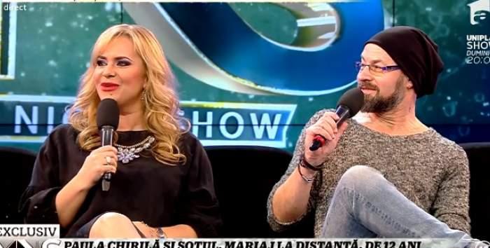 """Paula Chirilă, pentru prima dată cu soţul la TV! """"Până acum un an jumate el a stat la Cluj"""""""