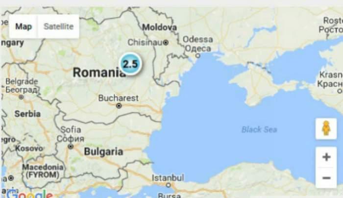 Un nou CUTREMUR! România s-a zguduit în această dimineaţă
