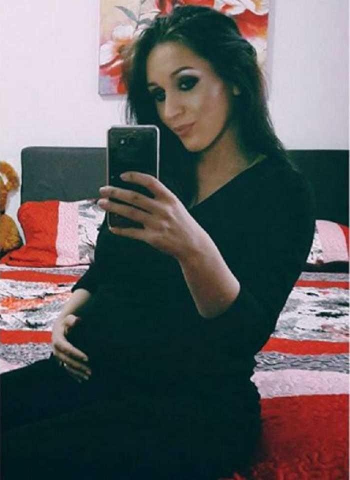 Cât s-a îngrășat Dana Roba pe parcursul sarcinii! Cu doar câteva zile înainte de a naște a cumpărat câteva hăinuțe