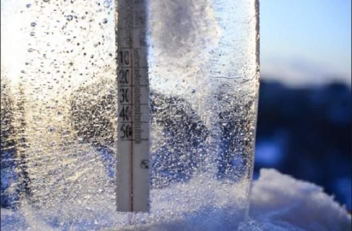 Update! Informare meteo: Cod galben de vânt, zăpadă spulberată şi ger