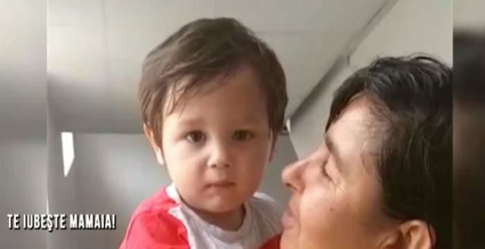 VIDEO / Destin crud! Bolnav de leucemie, un copil de doi ani, ABANDONAT de mamă pentru AMANT