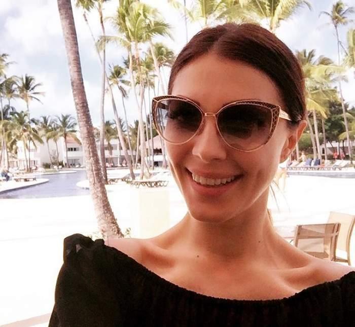 Imagini din vacanţa Ilincăi Vandici şi a iubitulu ei! După ce a anunţat că este însărcinată are parte de relaxare totală