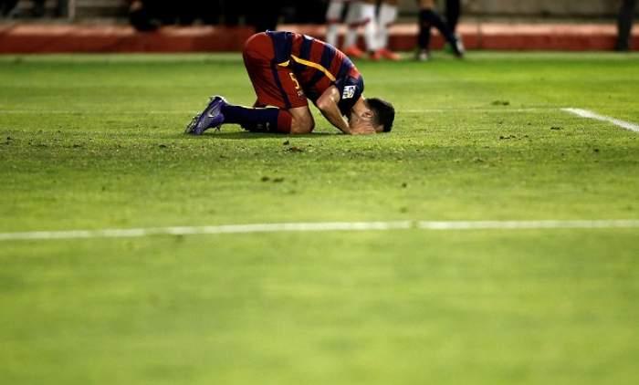 Accidentare HORROR pentru un star al Barcelonei! Medicii au dat un verdict dur! / VIDEO