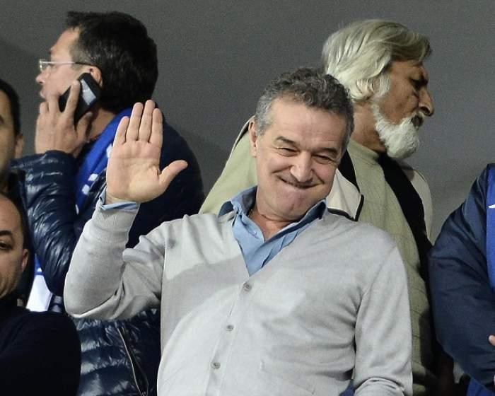 Gigi Becali l-a trimis în Rai și s-a ales și cu un milion de euro