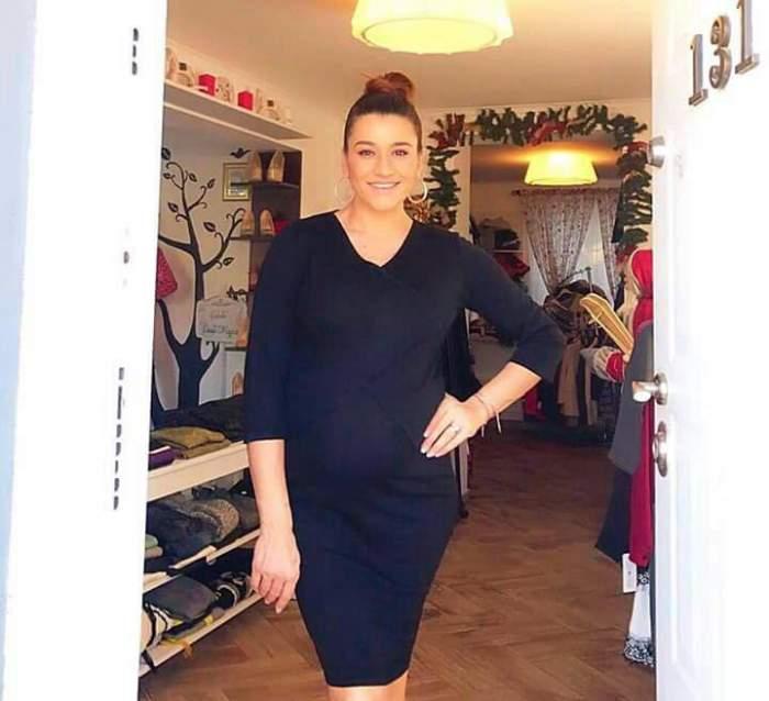 FOTO / Primele declaraţii după ce Claudia Pătrăşcanu a născut cel de-al doilea copil al său