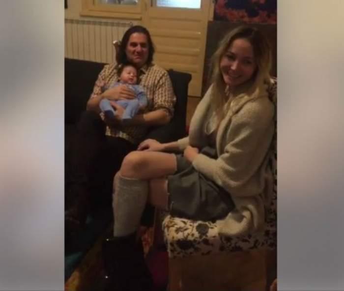 VIDEO & FOTO / Marian Ionescu vrea ca fiul lui să-i calce pe urme!?! Cum au fost filmaţi ei, dar şi Octavia Geamănu