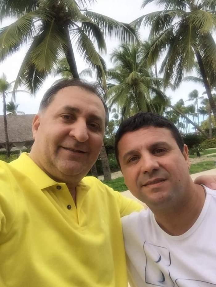 FOTO / Au fost la un pas de o TRAGEDIE! Nicu Paleru şi Vali Vijelie, probleme serioase la decolarea spre vacanţa din Republica Dominicană