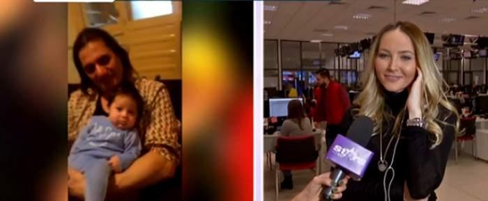 """VIDEO / Octavia Geamănu şi-a lăsat băieţelul acasă şi a plecat la treabă: """"Nu am încredere să..."""""""