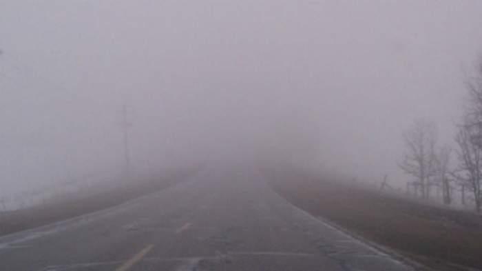 COD GALBEN de ceață! Trei județe vor fi afectate
