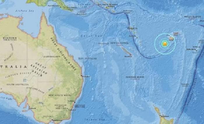 Cutremur extrem de puternic în Insulele Fiji! Autorităţile au intrat în alertă