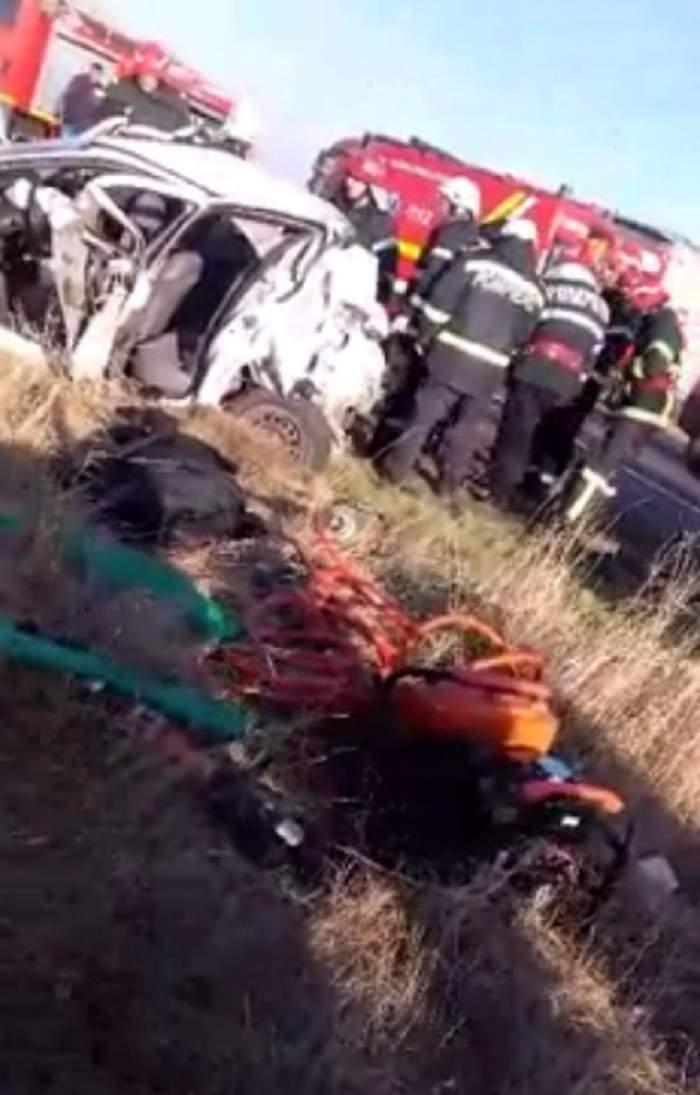 VIDEO / ULTIMA ORĂ! Accident GRAV pe DN 2! Două persoane au murit