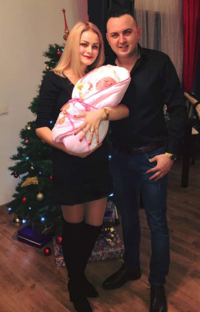 FOTO / Fiica lui Vasilică Ceteraşu, botez de 3 zile şi 3 nopţi! Cine va cânta la petrecerea de după creştinarea Selenei