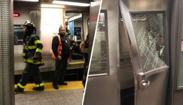 FOTO & VIDEO / Zeci de persoane au fost rănite, după ce un tren  a deraiat în New York