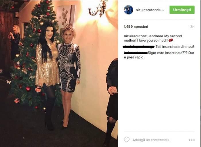 """FOTO / Andreea Tonciu şi-a bucurat fanii la maximum la început de an, cu burtica rotunjoară: """"Eşti însărcinată din nou?"""""""