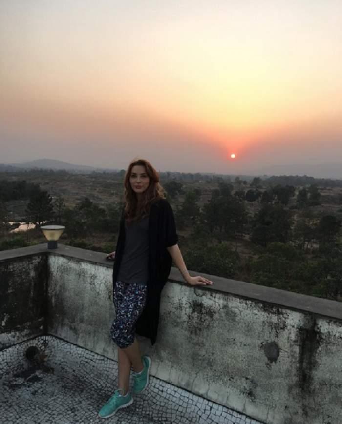 FOTO / Iulia Vântur face furori în India! Salman Khan nu o scapă din ochi deloc