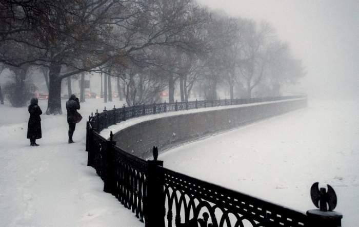 VIDEO / Brrr!  Un ciclon a lovit România şi se anunţă temperaturi extrem de scăzute