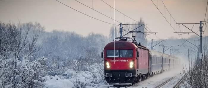 UPDATE / Trenuri ANULATE, ZBORURI întârziate şi localităţi fără curent electric! Iarna blochează România