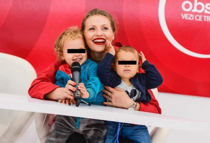 FOTO / Momente cumplite pentru Mirela Vaida! Băiețelul ei a ajuns la spital