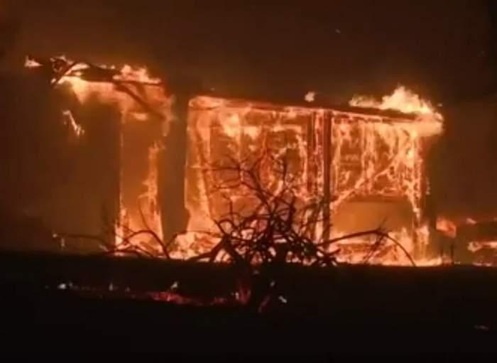 VIDEO / Incendii uriaşe în California! Sunt peste 10 morţi şi 100 de răniţi