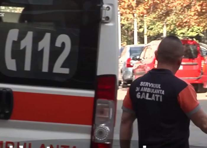 VIDEO / Accident îngrozitor în Galaţi, surprins de camerele de supraveghere! Un tânăr de 19 ani este în stare foarte gravă