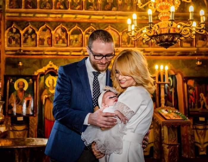 Simona Gherghe, talie de invidiat după sarcină! Vedeta a uimit pe toată lumea la botez