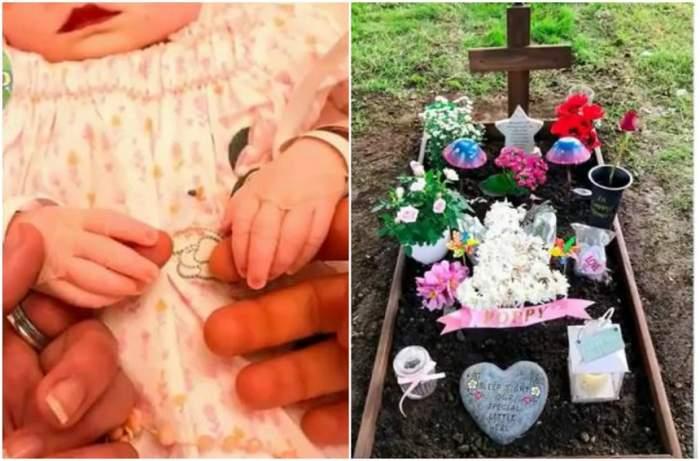 VIDEO / O mamă a postat poze cu fetița ei moartă, după ce aceasta a murit otrăvită în pântece