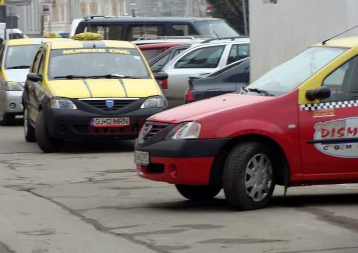 Imagini groaznice! Un taximetrist a fost snopit cu bâta de o femeie! Motivul agresiunii e incredibil
