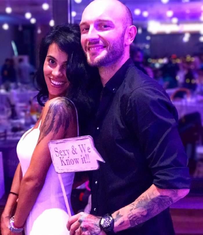 FOTO / Cătălin Bordea se pregătește să devină tătic?! Soția lui l-a anunțat