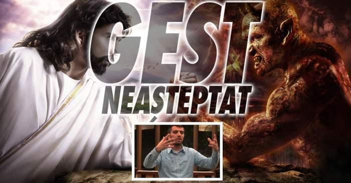 VIDEO / Gest neaşteptat făcut de magicianul care a renunţat la Diavol de dragul lui Iisus!