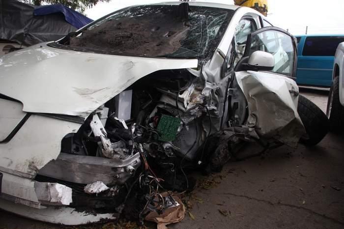 Accident mortal în județul Galați! Două persoane au murit, iar alte trei se află în stare gravă