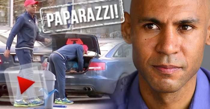 Gest de milioane făcut de Nana Falemi! Cum l-a făcut fericit pe angajatul unei benzinării / VIDEO PAPARAZZI