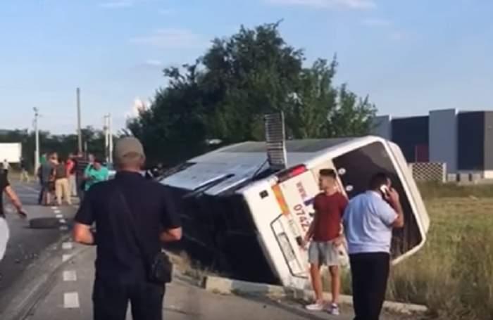 Autobuz şcolar, implicat într-un accident în Germania! Sunt cel puţin 28 de copii răniţi!