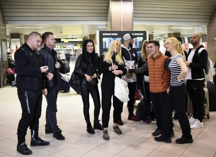 """FOTO / Imagini de senzaţie cu cele 7 cupluri care au plecat în aventura """"Asia Express""""! Cruduţa, gest neobişnuit în aeroport"""