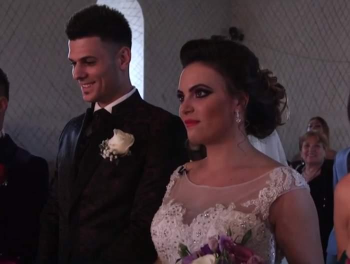 VIDEO / Imagini nemaivăzute de la nunta lui Laurențiu de la MPFM cu Larisa! Emoțiile au fost mari pentru cei doi