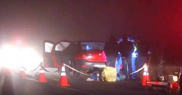 VIDEO / Crimă ŞOCANTĂ în Călăraşi! După ce au fost luaţi la ocazie, i-au tăiat gâtul şoferului!