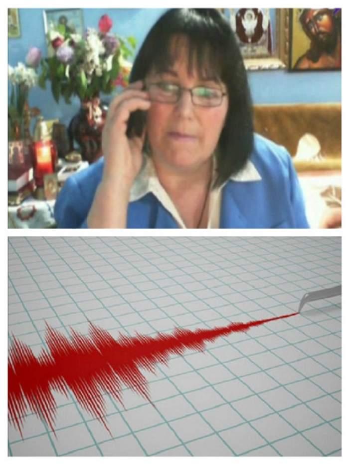 """Maria Ghiorghiu, previziuni șocante: """"Un cutremur mare""""! Când ar avea loc"""
