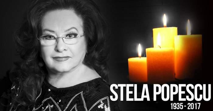 Astăzi, Stela Popescu, va fi condusă pe ultimul drum. Mii de români o plâng şi îi aduc un ultim omagiu