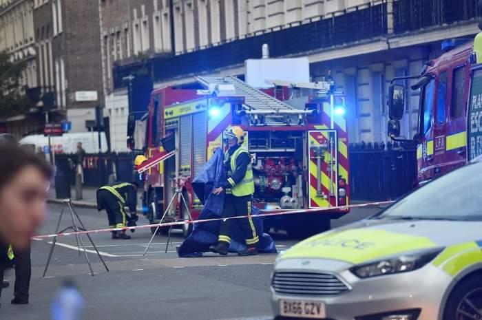 ULTIMĂ ORĂ! Alertă cu BOMBĂ la o clădire de birouri din Londra! Toţi oamenii au fost evacuaţi
