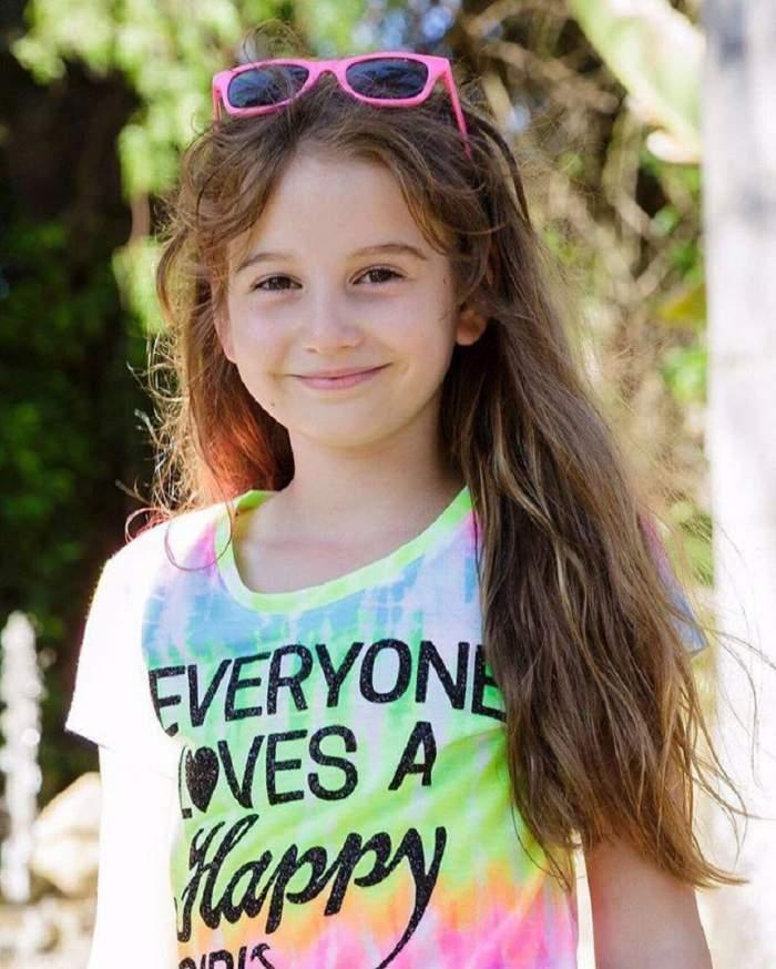 Are 10 ani, dar a vorbit deja despre primul ei sărut. Ce a dezvăluit Irinuca Columbeanu