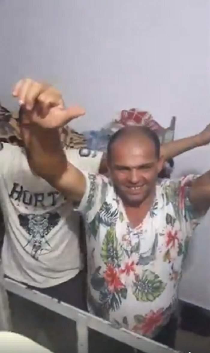 VIDEO / Aşa ceva?! Petrecere live din penitenciar. Deţinuţii români petrec de zor în celulă! Filmuleţele au ajuns virale