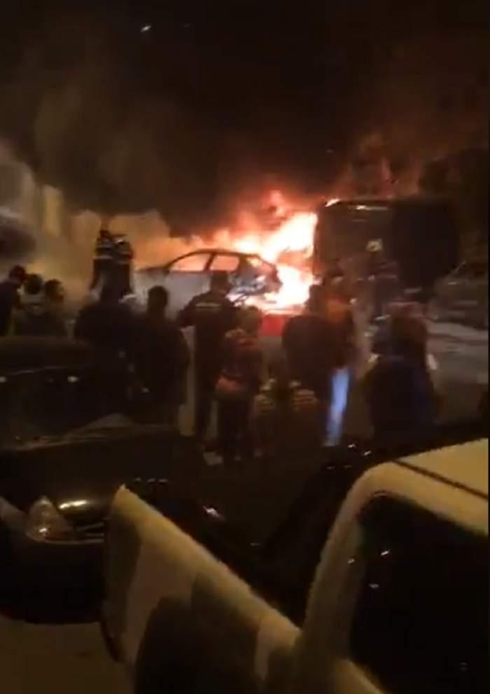 VIDEO / Cum arată locul morţii din Capitală, la doar câteva ore după ce o femeie a ars de vie. Ce s-a descoperit