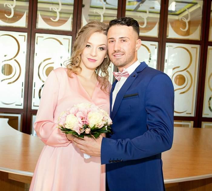 FOTO / Pregătirile sunt pe ultima sută de metri pentru nunta lui Laurențiu de la MPFM! Oana a ales o rochie de mireasă spectaculoasă