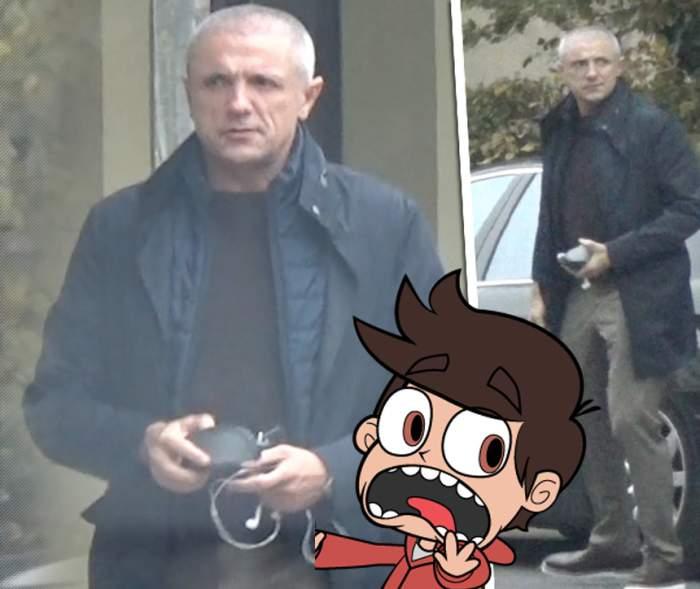 Gică Popescu, schimbare RADICALĂ de look! Te-ai speria dacă l-ai vedea pe stradă! / VIDEO PAPARAZZI