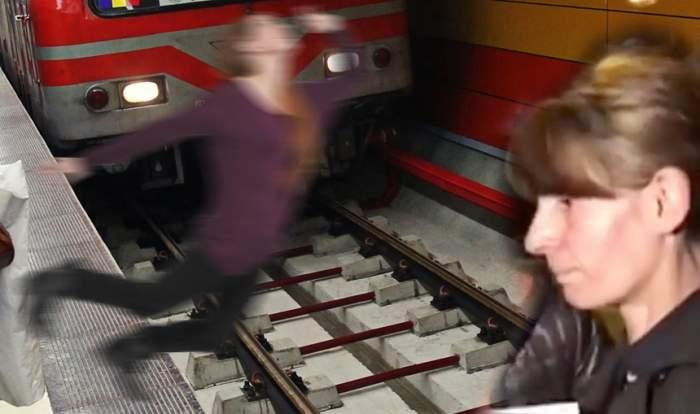 """Detalii şocante despre trecutul """"criminalei de la metrou""""! Ar fi fost internată la un spital de psihiatrie, în Spania"""