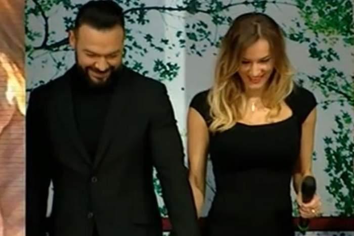 Primele imagini cu burtica de gravidă a soției lui Cornel Păsat!