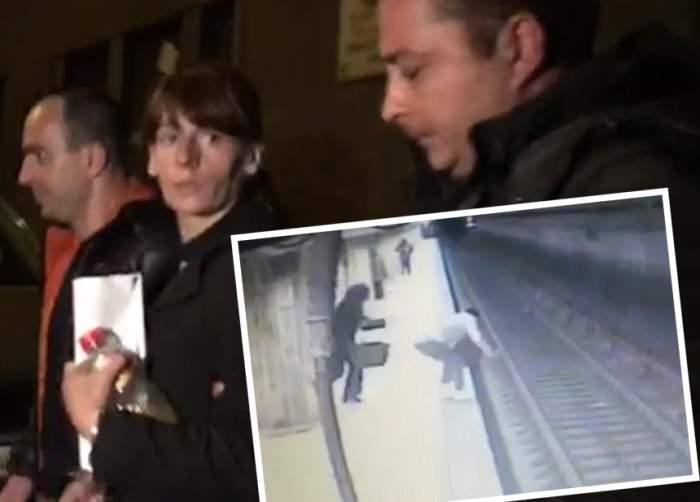 """VIDEO / Tatăl primei victime a """"criminalei de la metrou"""" reacționează! Care este starea de sănătate a fetei care a fentat moartea"""