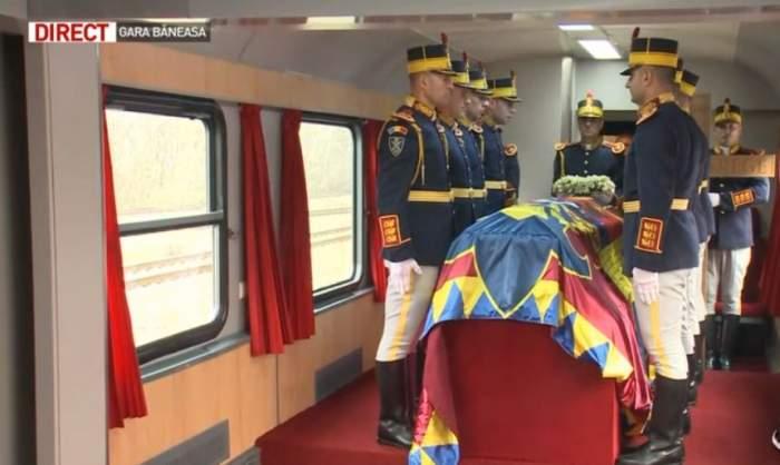 VIDEO / Ce s-a întâmplat în Trenul Regal, în drumul său spre Curtea de Argeş