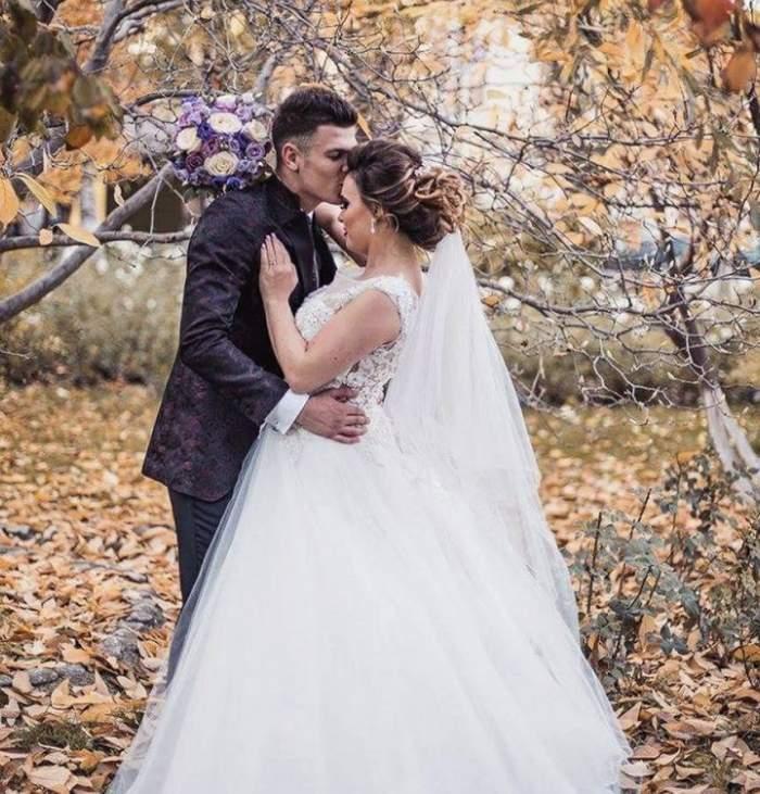 Imagini noi de la nunta lui Laurenţiu de la Mpfm. Fotografiile sunt impresionante