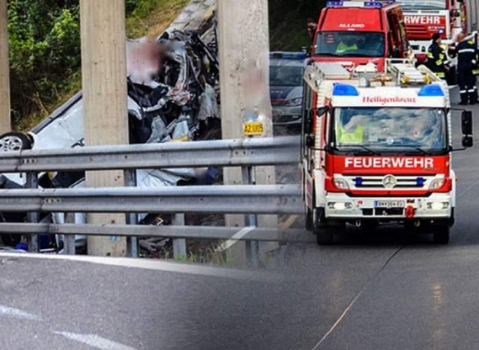 Tragedie pe o autostradă din Ungaria! Mai mulţi români care se întorceau acasă de sărbători au fost implicaţi într-un accident grav